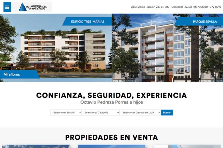 Octavio Pedraza Portal Web