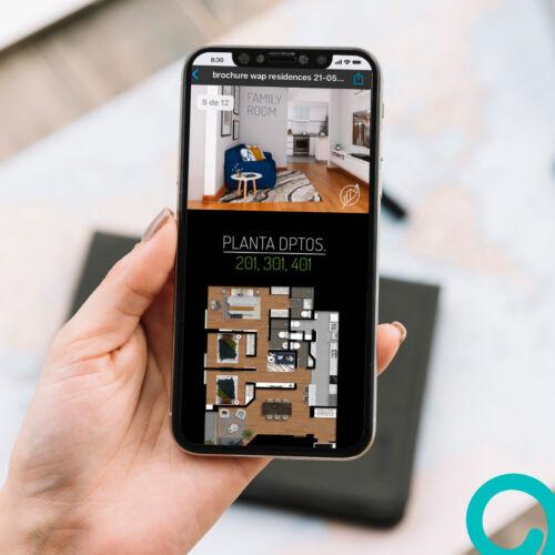 Linea Gráfica – Proyecto Inmobiliario Residences